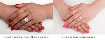 2 carat ring two carat engagement rings estate diamond jewelry