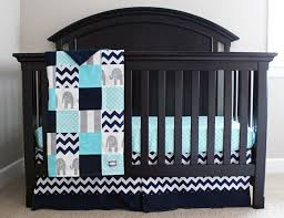 Grey And Green Crib Bedding Reserved Aqua Navy And Grey Baby Bedding Elephant Crib