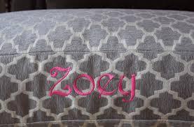 geometric dog bed large river rock grey trellis fabric add