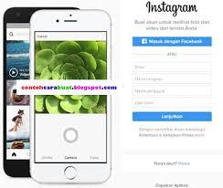 buat akun instagram via operamini daftar buat akun instagram lewat hp biasa