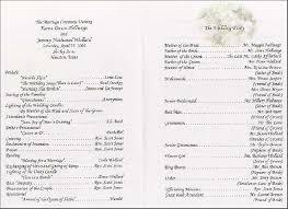 wedding reception program wording wedding reception program obniiiscom wedding ceremony programs vs