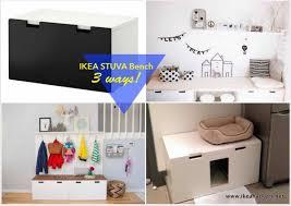 Ikea Hacks Mudroom Ikea Stuva Bench 1 Item 3 Ways Ikea Hackers Ikea Hackers