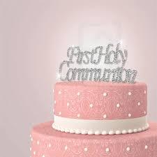 rhinestone cake holy communion rhinestone cake topper partyplanhq