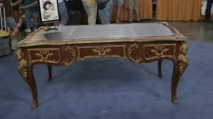 bureau louise louis xv style bureau plat ca 1940 antiques roadshow pbs