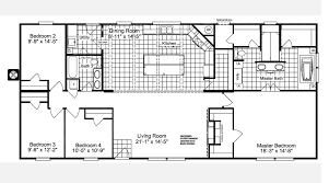 the magnum home ml30664m manufactured home floor plan or modular