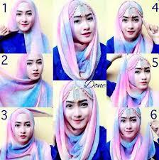 tutorial hijab paris ke pesta tutorial hijab pesta simple mudah dan praktis kreasi terkini tanpa