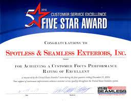 2016 us seamless awards blog spotless u0026 seamless exteriors