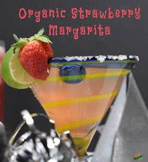 strawberry margarita organic strawberry margarita