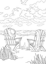 tropical beach coloring pages bliss seashore coloring book your passport to calm by jessica