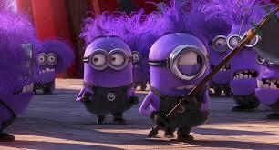 purple evil minion coloring pages