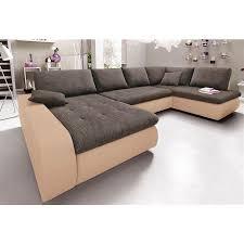 canapé panoramique tissu canapé convertible panoramique microfibre qualité luxe et tissu