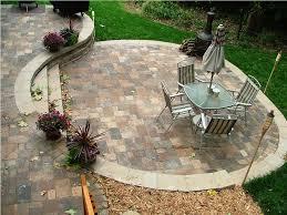 Garden Paving Design Ideas Backyard Pavers Design Ideas All Home Design Ideas Chic