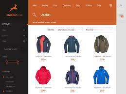 web shop design multipurpose flat shop design psd template by around seven