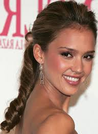 cute prom hairstyles for long hair in ponytail hair jessica alba