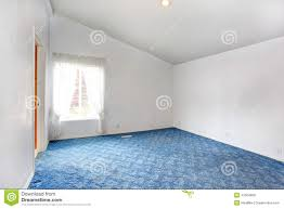 Empty White Bedroom Empty Bright Bedroom Interior With Vaulted Ceiling Stock Photo