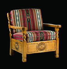 Western Style Furniture Santa Fe Easy Chair Southwest Furniture Santa Fe Style