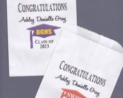 candy bar bags personalized graduation candy buffet bag favor bags cookie bar treat