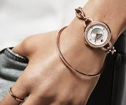 gold tone bracelet images Aila white rose gold tone bracelet watch outlet swarovski jpg