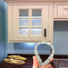 200cm doubleled strip lights for kitchen unit lights under cabinet kit