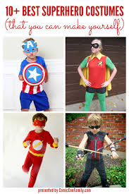 Superhero Family Halloween Costumes 10 Best Superhero Costumes That You Can Make Yourself Comic