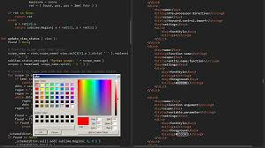 colorschemeeditor packages package control