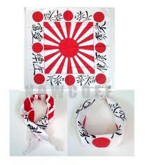 japanese headband japanese rising sun bandana scarf japan flag kamikaze battle