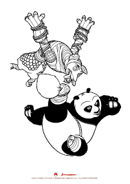 kung fu panda 2 kung fu panda coloring pages coloring for kids