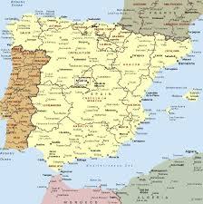 Map Of Valencia Spain by Spain Map