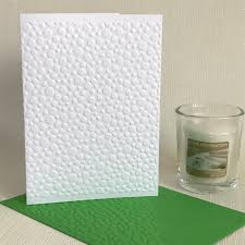 embossed note cards mini bubbles pack of 6 white embossed note cards looks inviting