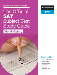 amazon com the official sat subject test in world history study