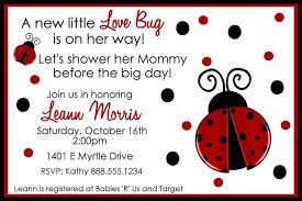 ladybug baby shower ladybug baby shower invitations theruntime