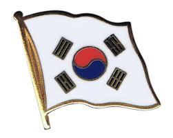 Korea Flag Image South Korea Flag Pin Badge 1 X 1 Inch Best Buy Flags Co Uk