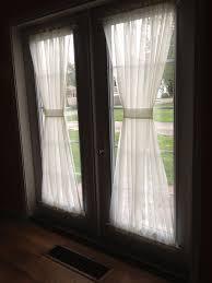Magnetic Curtain Rod Door Curtain Rod Sliding Patio Door Curtains Patio Door Curtains
