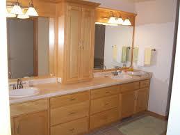 Orange Bathroom Vanity Unfinished Bath Vanity Cabinets Within Maple Bathroom Cabinet