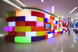 art in the workplace acrylicize brings colour into the office