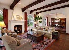 Mediterranean Style Home Interiors Spanish Style Home Interior Decorating Homes With Courtyard