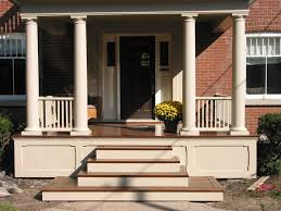 outside steps kits premade deck stairs exterior stone stair