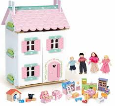 Dolls House Furniture Sets Le Toy Van Sweetheart Cottage Bundle With 7 Accessory Sets