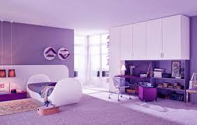 enchanting purple girls bedroom ideas for beautiful charm myohomes