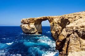 Azure Window Iconic Azure Window Rock Arch In Malta Collapses Into Sea