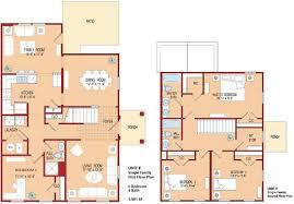 2200 sq ft floor plans apartments floor plan with 4 bedrooms incredible double storey