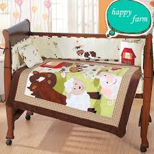 baby products 100 cotton baby crib happy farm bedding set infant