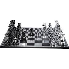 Chess Board Design Kare Design Big Chess Game Set Gold Amazon Co Uk Kitchen U0026 Home