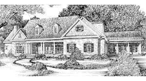 Symmetrical House Plans 2 Stairs To Upper House Plans Southern Living House Plans