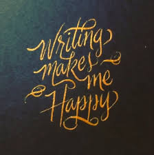 writing makes me happy penmanshipporn
