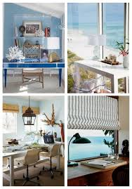 Beach Inspired Interior Design Coastal And Beach Inspired Home Offices Comfydwelling Com