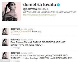 Eating Disorder Meme - demi lovato blasts disney channel over anorexia joke daily mail
