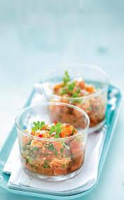 recette saine et facile recette tartare de saumon au gingembre et au sésame marie claire