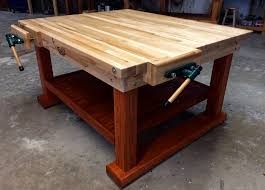 Work Bench Table Workbenches Wooden Workbenches Made In U S A