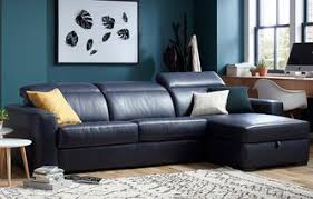 Leather Chaise Sofa Leather Sofa Beds That Combine Quality Value Dfs
